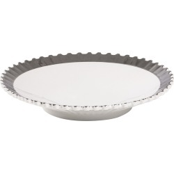 Diesel Living with Seletti - Machine Collection Soup Plate - Design 2 Silver found on Bargain Bro UK from Amara UK