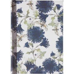 Jessica Russell Flint - Purple Flowers Notebook - A6 found on Bargain Bro UK from Amara UK
