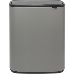 Brabantia - Bo Touch Bin - 60 Liter - Mineral Concrete Gray found on Bargain Bro India from Amara US for $295.00