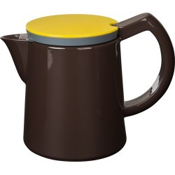 HAY - 'Coffee' George Sowden's Porcelain Coffee Pot - Medium - Brown