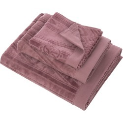Roberto Cavalli - Deco Towel - Mauve - Guest Towel found on Bargain Bro UK from Amara UK