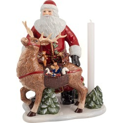 Villeroy & Boch - Christmas Toy's Memory Santa With Deer Ornament found on Bargain Bro UK from Amara UK