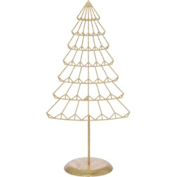 A by Amara - Gold Metal Tree Ornament - Small found on Bargain Bro UK from Amara UK