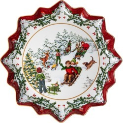Villeroy & Boch - Toy's Fantasy Pastry Plate - Deep - Sleigh Ride found on Bargain Bro UK from Amara UK