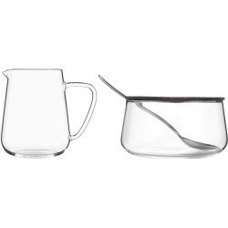 VIVA - Classic Glass Milk and Sugar Set