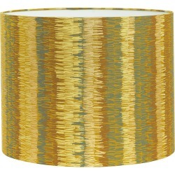 Clarissa Hulse - Textured Stripe Lamp Shade - Turmeric - Medium