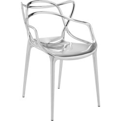 Kartell - Masters Chair - Chrome found on Bargain Bro UK from Amara UK