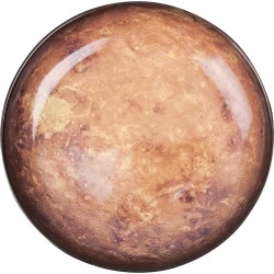 Diesel Living with Seletti - Cosmic Plate - 23.5cm - Mars found on Bargain Bro UK from Amara UK