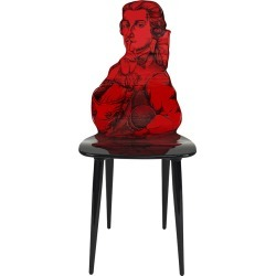 Fornasetti - Don Giovanni Chair - Red found on Bargain Bro UK from Amara UK