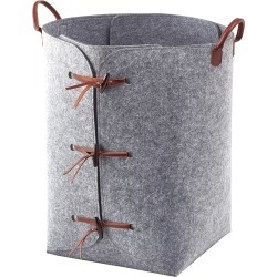 Aquanova - Resa Laundry Basket - Gray found on Bargain Bro Philippines from Amara US for $85.00