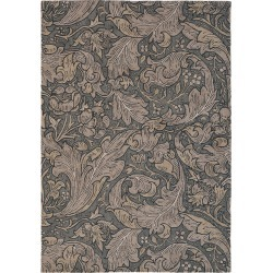 Morris & Co - Bachelors Button Rug - Charcoal - 170x240cm found on Bargain Bro India from Amara US for $998.00
