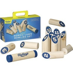 Ridley's Games Room - Nordic Lawn Bowling Set found on Bargain Bro UK from Amara UK