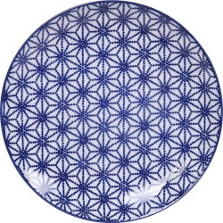 Tokyo Design Studio - Assiette à Dessert Bleue Nippon - Étoile found on Bargain Bro India from Amara FR for $20.80