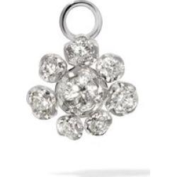 Annoushka Marguerite 18ct White Gold Diamond Single Earring Drop