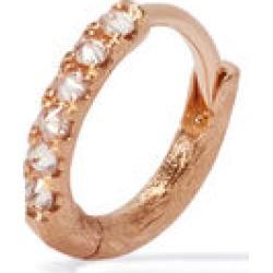 Annoushka Dusty Diamonds 18ct Rose Gold Diamond 10mm Hoop found on Bargain Bro UK from annoushka