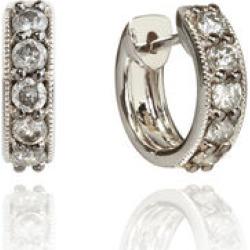 Annoushka Dusty Diamonds 18ct White Gold Diamond Hoop Earrings found on Bargain Bro UK from annoushka