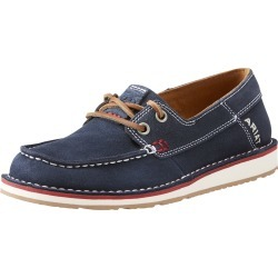 Women's Cruiser Castaway Shoes in Team Navy Leather, B Medium Width, Size 4, by Ariat found on Bargain Bro UK from Ariat (UK)
