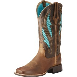 Women's VentTEK Ultra Western Boots in Distressed Brown Leather, B Medium Width, Size 4, by Ariat found on Bargain Bro UK from Ariat (UK)