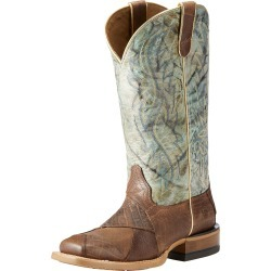 Women's Rosalee Western Boots in Shades Of Brown Leather, B Medium Width, Size 4.5, by Ariat found on Bargain Bro UK from Ariat (UK)
