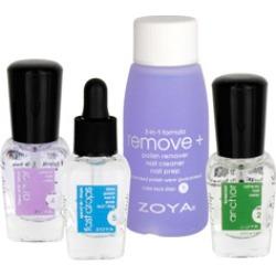 Zoya Mini Color Lock System Try Me Kit 4 piece