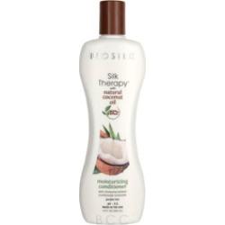 BioSilk Silk Therapy with Organic Coconut Oil Moisturizing Conditioner 12 oz