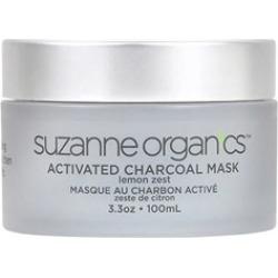 SUZANNE Organics Activated Charcoal Mask - Lemon Zest 3 oz
