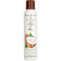 BioSilk Silk Therapy with Organic Coconut Oil Whipped Volume Mousse  8 oz