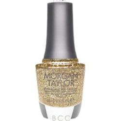 Morgan Taylor Lacquer Glitter & Gold 0.5 oz