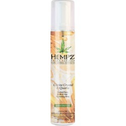 Hempz Citrine Crystal & Quartz Herbal Face, Body & Hair Hydrating Mist 5 oz