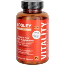 Bosley Professional Strength Healthy Hair Vitality Supplement for Women 60 capsules