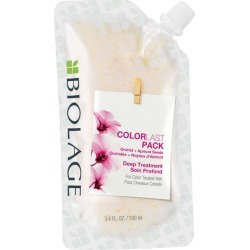 Matrix Biolage ColorLast Deep Treatment Pack Multi Use Hair Mask 3.4 oz Womens Matrix