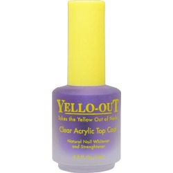 Blue Cross Yello-Out Clear Acrylic Top Coat 0.5 oz Womens BLUE CROSS Nail & Cuticle Treatments found on MODAPINS from beautyplussalon.com for USD $5.99