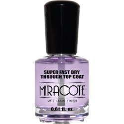Duri Miracote Wet Look Finish Top Coat 0.61 oz Womens Duri Nail Polishes found on MODAPINS from beautyplussalon.com for USD $9.99
