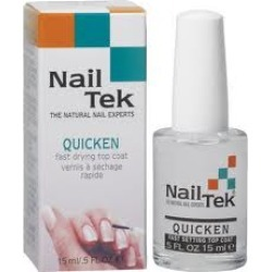 Nailtek Quicken Fast Drying Top Coat 0.5 oz Womens Nail Tek Nail & Cuticle Treatments found on MODAPINS from beautyplussalon.com for USD $10.99