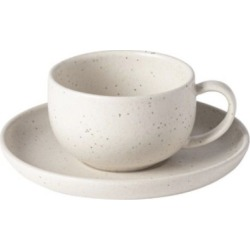 Pacifica Vanilla Tea Cup and Saucer (Set of 4)