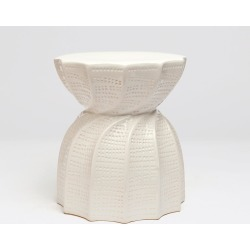 Bea Stool Glossy White found on Bargain Bro India from Belle & June for $385.00
