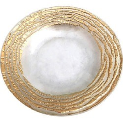 Magara Gold Canape Plates (Set of 4)