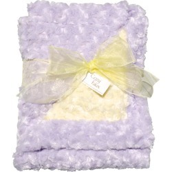 Lavender/Yellow Baby Blanket