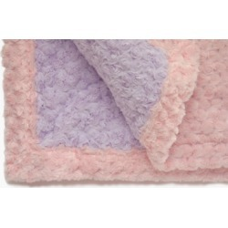 Light Pink Lavender Baby Blanket