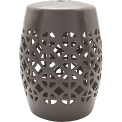 Ridgeway Gray Stool found on Bargain Bro India from Belle & June for $124.00