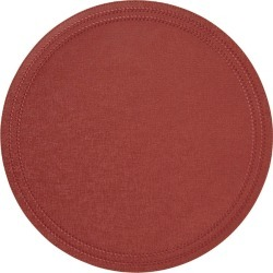 Paloma Coral Round Placemats S/4