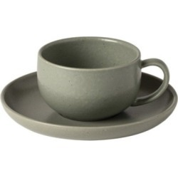 Pacifica Artichoke Tea Cup and Saucer (Set of 4)