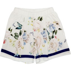 Girl's Butterfly & Floral-Print Pleated Shorts, Size 4-12 found on MODAPINS from Bergdorf Goodman for USD $59.00
