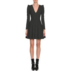 V-Neck Ruffle-Shoulder Mini Dress found on MODAPINS from Bergdorf Goodman for USD $2745.00
