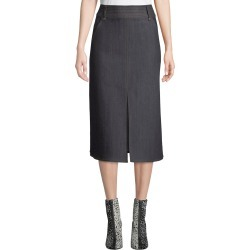 Leith High-Waist Denim Midi Skirt found on Bargain Bro India from Bergdorf Goodman for $262.00