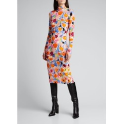 Horatio Long-Sleeve Floral-Print Dress found on Bargain Bro Philippines from Bergdorf Goodman for $395.00