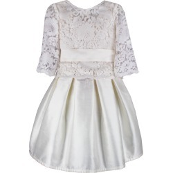 Fable Silk Dress w/ Lace Overlay Top, Size 6-8 found on Bargain Bro Philippines from Bergdorf Goodman for $310.00