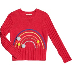 Rainbow Sweater with Pompoms, Size 4-12 found on Bargain Bro Philippines from Bergdorf Goodman for $54.00