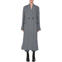 Racer-Side Check-Front Oversized Coat found on Bargain Bro Philippines from Bergdorf Goodman for $728.00