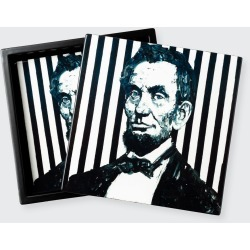 Abraham Lincoln Boxed Coasters, Set of 4 found on Bargain Bro India from Bergdorf Goodman for $150.00
